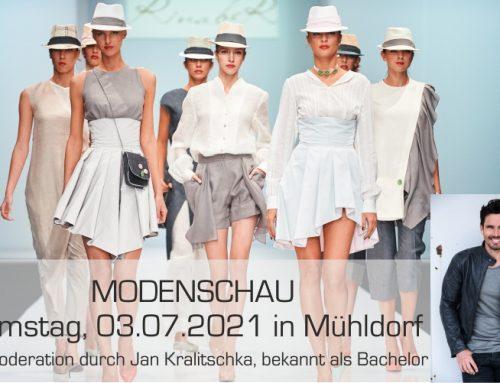 MODENSCHAU in Mühldorf am 03.07.2021