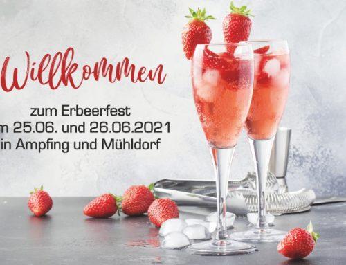 Erdbeerfest am 25. und 26. Juni 2021
